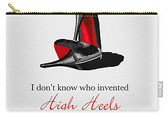 Who Invented High Heels? Carry-all Pouch