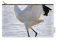 Whooping Crane - Whooping It Up Carry-all Pouch
