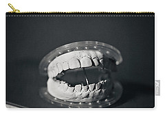 Carry-all Pouch featuring the photograph Whose Teeth Are These? by Trish Mistric