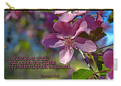 Carry-all Pouch featuring the photograph Whosoever by Larry Bishop