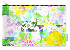 Wild About Flowers Carry-all Pouch by Barbara Moignard