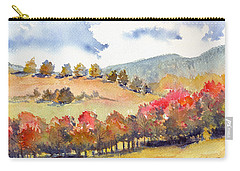 Wild And Wonderful Carry-all Pouch by Katherine Miller