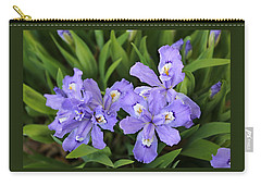Wild Iris  Carry-all Pouch by William Tanneberger