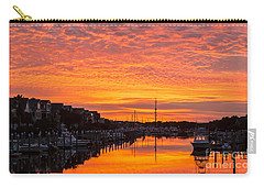 Wild Dunes Sunset Isle Of Palms Carry-all Pouch