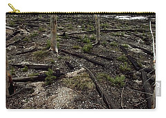 Carry-all Pouch featuring the photograph Wild Fire Aftermath by Amanda Stadther