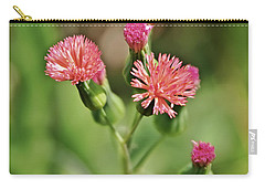 Carry-all Pouch featuring the photograph Wild Flower by Olga Hamilton