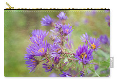 Wild Flowers In The Fall Carry-all Pouch