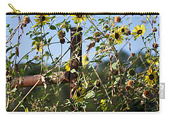 Carry-all Pouch featuring the photograph Wild Growth by Erika Weber