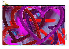 Wild Hearts Carry-all Pouch by Go Van Kampen