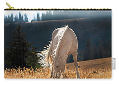 Wild Horse Cloud Carry-all Pouch