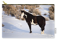 Wild Horse Stallion Carry-all Pouch by Nadja Rider