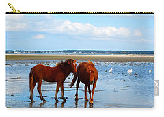 Wild Horses And Ibis 2 Carry-all Pouch