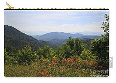 Wild Lilies With A Mountain View Carry-all Pouch