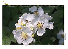 Wild Rose Carry-all Pouch by William Tanneberger