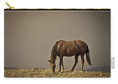 Wild Mustangs Of New Mexico 20 Carry-all Pouch