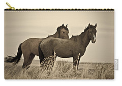 Wild Mustangs Of New Mexico 3 Carry-all Pouch