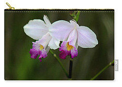 Wild Orchid Carry-all Pouch by Pamela Walton