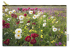 Wild Poppies South Texas Carry-all Pouch by Susan Rovira