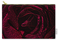 Wild Rose Carry-all Pouch by Kathy Churchman