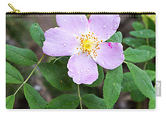Carry-all Pouch featuring the photograph Wild Gentian by Michael Chatt