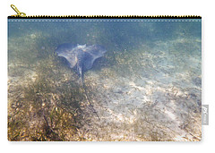 Carry-all Pouch featuring the photograph Wild Sting Ray by Eti Reid