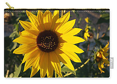 Wild Sunflower Carry-all Pouch by Nadja Rider