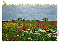 Wild Texas Carry-all Pouch by Lynn Bauer