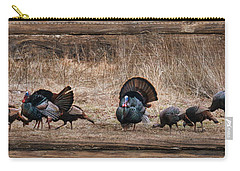 Wild Turkeys Carry-all Pouch by Lori Deiter