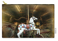 Wild Wooden Horse Carry-all Pouch