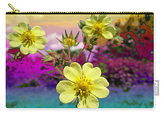 Wildflower Abstract Carry-all Pouch