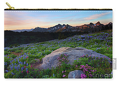 Wildflower Dawning Carry-all Pouch