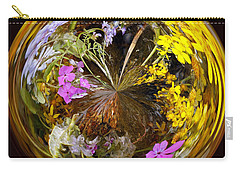 Carry-all Pouch featuring the photograph Wildflower Paperweight by Gary Holmes