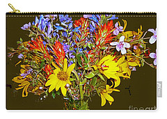 Wildflower Reminiscences Carry-all Pouch