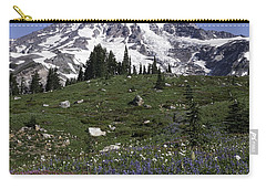 Wildflower Season At Mt Rainier Carry-all Pouch