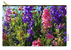 Wildflowers #14 Carry-all Pouch by Robert ONeil