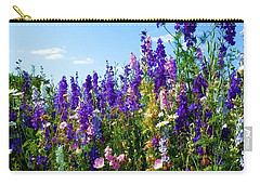 Wildflowers #9 Carry-all Pouch by Robert ONeil