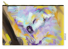 Wildlife Cuddle Koala Carry-all Pouch by Go Van Kampen