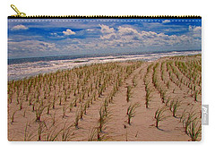 Wildwood Beach Breezes  Carry-all Pouch by David Dehner