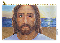 Will You Follow Me - Jesus Carry-all Pouch by Michele Myers