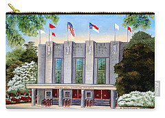 William Neal Reynolds Coliseum Carry-all Pouch by Shelia Kempf