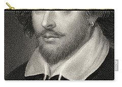William Shakespeare Carry-all Pouch