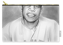 Willie Mays Carry-all Pouch by Greg Joens