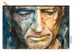 Willie Nelson  Carry-all Pouch by Laur Iduc