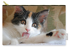 Carry-all Pouch featuring the photograph Willow Bathing by Kenny Francis