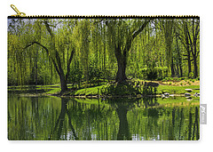 Willows Weep Into Their Reflection  Carry-all Pouch
