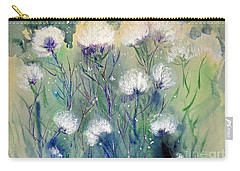 Willowy Whites Carry-all Pouch by Joan Hartenstein