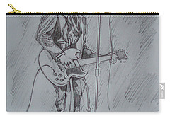 Mink Deville - Steady Drivin' Man Carry-all Pouch by Sean Connolly