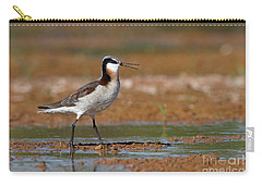 Wilson's Phalarope Calling Carry-all Pouch by Bryan Keil