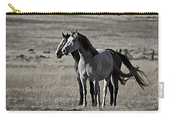 Carry-all Pouch featuring the photograph Windblown D3560 by Wes and Dotty Weber