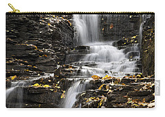 Carry-all Pouch featuring the photograph Winding Waterfall by Christina Rollo